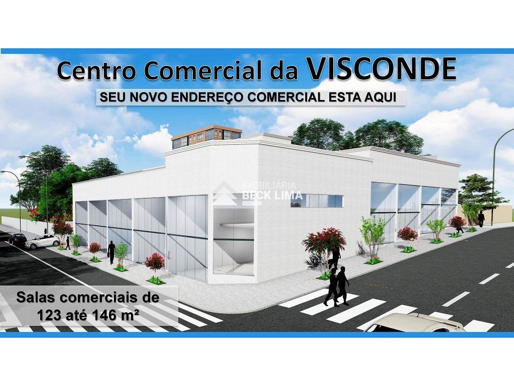 Salas Comerciais NOVAS para Alugar  - Rua São Paulo - Centro